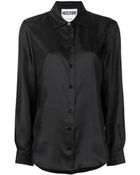 Moschino - Pointed Collar Shirt - Lyst