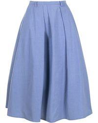 Sofie D'Hoore Aライン スカート - ブルー