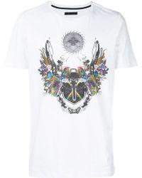 Frankie Morello   Graphic Short Sleeved T-shirt   Lyst
