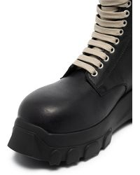 Rick Owens Массивные Ботинки На Платформе - Черный