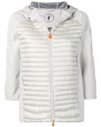 Save The Duck - Padded Jacket With Hood - Lyst