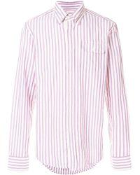Gant Rugger - Oxford Striped Button-down Shirt - Lyst