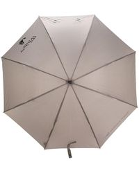 Off-White c/o Virgil Abloh Logo-print Umbrella - Grey