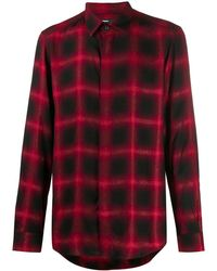 DIESEL Checked Shirt Red
