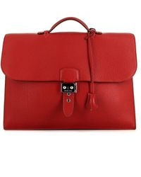 Hermès Портфель Sac À Dépêches 2009-го Года - Красный