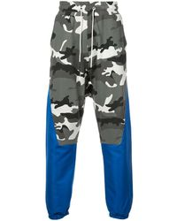 Mostly Heard Rarely Seen Propelled track pants - Gris