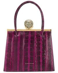 M2malletier 'Mulberry' Handtasche - Lila