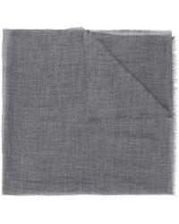 Eleventy Schal aus Kaschmir - Grau