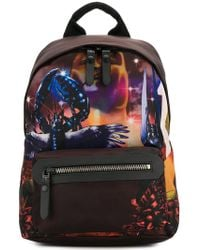 Lanvin - Printed Backpack - Lyst