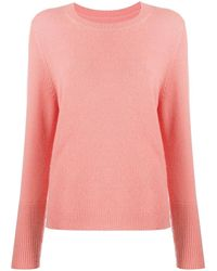 Chinti & Parker Cashmere Knitted Sweater - Pink