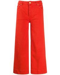 Victoria, Victoria Beckham High Rise Flared Jeans