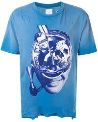Alchemist グラフィック Tシャツ - ブルー