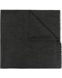 Agnona カシミア スカーフ - グレー