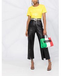 Moschino ロゴ Tシャツ - イエロー