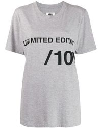 MM6 by Maison Martin Margiela - Camiseta Unlimited Edition - Lyst