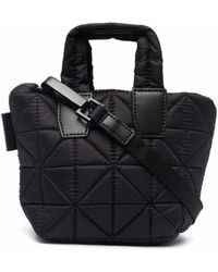 VeeCollective Padded Tote Bag - Black