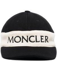 Moncler Gorra con logo - Negro