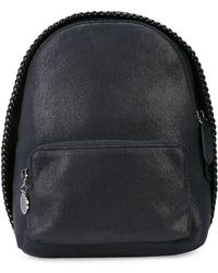 82389a2403bc Lyst - Stella McCartney Falabella Backpack in Gray