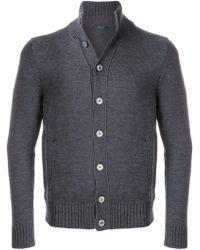Zanone - Button-down Sweater - Lyst