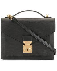 Louis Vuitton Borsa a mano con monogramma 2003 Pre-owned - Nero