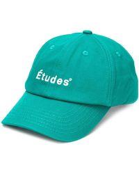 Etudes Studio Logo Baseball Cap - Green