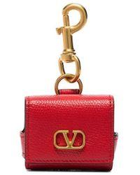 Valentino Garavani Vlogo Airpod Pro Case - Red