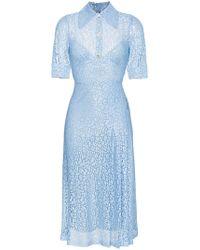 Sable nurse floral-lace dress Alessandra Rich PTTfMW6A