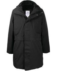 Y-3 パデッド コート - ブラック