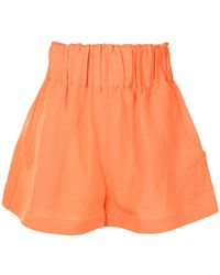 Bondi Born Shorts con vita elasticizzata - Arancione