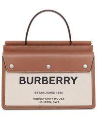 Burberry - Сумка Horseferry С Принтом - Lyst