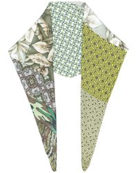 Pierre Louis Mascia | Patch-work Embroidered Scarf | Lyst