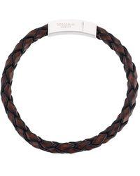Tateossian Woven Bracelet - Brown