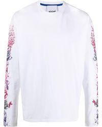 Koche フローラル スウェットシャツ - ホワイト