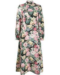 Vivetta フローラル ドレス - ブラック
