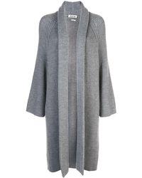 Jason Wu Open Front Cardi-coat - Grey