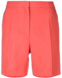 Rochas - Pleated Shorts - Lyst