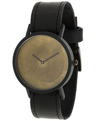 South Lane Avant Exposed Gold Watch - Black