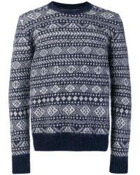 Woolrich - Wool Sweater - Lyst