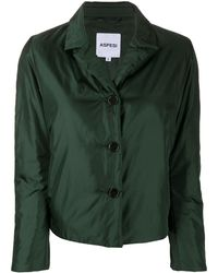 Aspesi Bocconcino Padded Jacket - Green