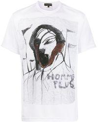 Comme des Garçons Homme Plus Tシャツ - ホワイト
