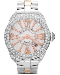 Backes & Strauss Piccadilly Steel 40mm - White
