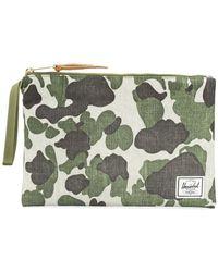 Herschel Supply Co. - Camouflage Print Coin Pouch - Lyst