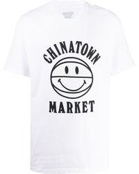 Chinatown Market - Smiley Uv Bball Tシャツ - Lyst