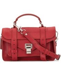 Proenza Schouler Ps1 Tiny Bag - Red