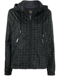 MCM フーデッドジャケット - ブラック