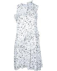 Carven - Vestido de lunares - Lyst