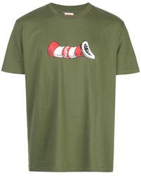 Supreme Cat In The Hat Tシャツ - グリーン