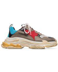 a4b53df295de Balenciaga - Multicoloured Triple S Sneaker - Lyst
