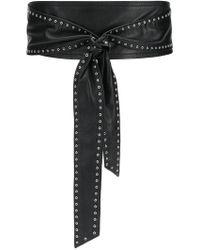IRO Studded waist belt - Nero