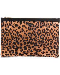 Dolce & Gabbana Косметичка С Леопардовым Принтом - Многоцветный